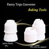 Pastry Tips Converter Plastic Decorating Mouth Converter Baking Tools