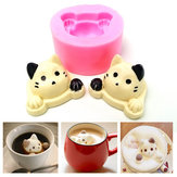 3D Silicone Cute Cat Head Shape Cake Mold Mould Fondant Decoration Tool