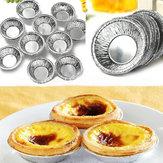 125 قطع المتاح جولة الفضة احباط الخبز كوكي أكواب كعكة تارت العفن