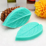 TC3773 Silicone Leaf Shaped Mould Fondant Cake 3D Siliconen Mould Baking Decorating Tool