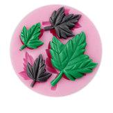 Mapple Leaf Silicone Fondant Mold Sugarcraft Cake Decorating Mould