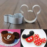 5 stuks Cartoon Cake Cookies Cutters Suiker Craft Cake Decorating Tool