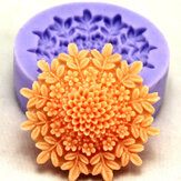 F0127 Silicone Flower Cake Mould Zeep Chocolade Fondant Mould