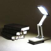 Draagbare Vouwende LED Leeslamp Oplaadbare Tafelstudie Bureau Lamp