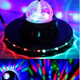 8W Obrotowa dioda LED Club Disco Party Crystal Magic Ball Stage Effect Light