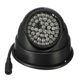 48 LED Night Vision IR Infrared Illuminator Light Lâmpada para câmera de CCTV