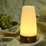 Kablosuz Hareket Sensör Silindir LED Gece Işığı Batarya Güç Lamba