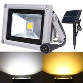 10w luz de inundación LED energía solar resistente al agua proyector paisaje al aire libre