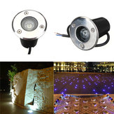 1W LED Waterdicht Outdoor In Ground Garden Path Flood Landscape Light