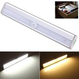 10 LED PIR Motion Sensor Light Voor Kabinet Garderobe Boekenkast Trap
