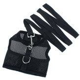 Größe S Gelegenheits Pet Safety Leash mit Netz Girth Harness Vest Kleine