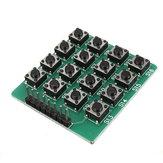 5 szt. 4x4 16-klawiszowy moduł klawiatury Matryca 16 przycisków Geekcreit dla Arduino - produkty współpracujące z oficjalnymi tablicami Arduino