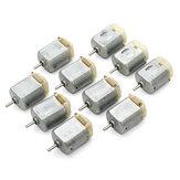 10pcs 130 Micro DC Motor 3V-6V 8000RPM