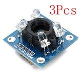 3Pcs GY-31 TCS3200 Cor Sensor Módulo de reconhecimento Geekcreit para Arduino - produtos que funcionam com placas oficiais Arduino