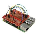 Prototypowa Tarcza HAT do Raspberry Pi 2 / B + / A +