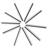 10stk 40 Pin 2,54 mm Enkelt rækkehoved buet nåle til Arduino - produkter, der fungerer med officielle Arduino-tavler