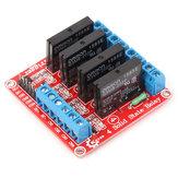 Módulo de relé de estado sólido de quatro vias Geekcreit para Arduino - produtos que funcionam com placas Arduino oficiais