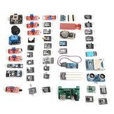 Geekcreit 45 In 1 المستشعر Starter Board Starter Kits Carton Box رزمة