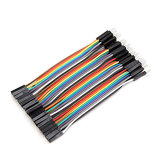40pcs 10cm Male To Female Jumper Kabel Dupont Wire