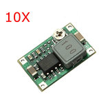 10 Pcs Mini DC Adjustable Power Supply Buck Modul Melangkah Modul