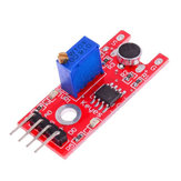 5Pcs KY-038 Microphone Sound Detection Sensor Module Geekcreit for Arduino - products that work with official Arduino boards
