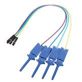 12Pcs Test Clamp Wire Hook Testklip til Logic Analyzer