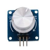 Módulo de Sensor Ângulo Rotação Potenciômetro Ajustável para Arduino