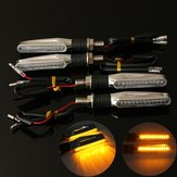 4pcs moto LED Disabilita segnale spia ambra