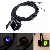 Motocicleta Universal LED Display Digital Indicator Shift Nível Sensor