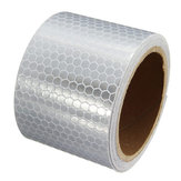 5cm 3m Long White Reflective Safety Warning Conspicuity Tape Film Sticker