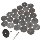 25Pcs Resin Snijwiel Disc + Mantel Rotary Tool