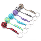 Ball Self Defense Lanyard Survival Key Chain Fragrance Color Random
