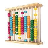 Bebé niños calculadora computing herramienta de madera de aprendizaje de matemáticas juguetes ábaco