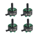 4 PCS Flashhobby Arthur Series A1506 1506 3100KV 3-6S Motor Sin escobillas Eje de 5 mm para 3-4 Inch Freestyle RC Drone FPV Racing