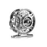ZANLURE 1: 1 Fly Рыбалка Катушка из алюминиевого сплава Полное литье металла Левая / правая замена Червячная штанга с ЧПУ Ice Рыбалка Колесо