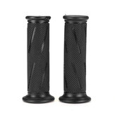 7/8 Inch 22cm Motorcycle Handlebar Grip Retro Handle Rubber Bar Rubber Gel Grip