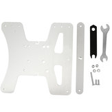 Aluminum V2 Modular Y Carriage Plate Upgrade Kit with 3-Point Leveling Adjustment for Creality Ender-3 / Ender-3 PRO 3D Printer