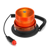 24W كهرمان LED Rotary Emergency ضوء Flash Stobe Beacon Warning Lamp for Car Truck