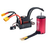 Surpass Hobby KK 4076 2000KV Motor Brushless 150A XT60 Brushless ESC Combo Set para 1/8 RC Car Model Parts