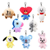 Plush Cute Кукла Key Chain Creative Animal Брелок Кулон