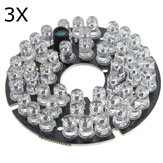 3Pcs 48 LED IR Infrared Illuminator Bulb Circuit Board For CCTV Security Camera