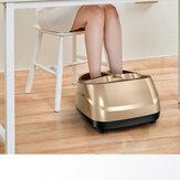 Massageador de pé elétrico shiatsu massageador de massageador de terapia de calor de perna de calcanhar rolante