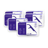 SOOCAS 300Pcs Dental Floss Picks Interdental Between Teeth Cleaner herramientas con 6 Travel Handy Caso de Ecosystem