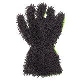 Guanto riutilizzabile a cinque dita in ciniglia di corallo attrezzo per la pulizia del veicolo per il lavaggio dei veicoli