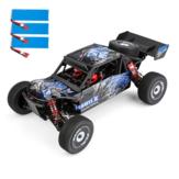 Wltoys 124018 Vários Bateria RTR 1/12 2.4G 4WD 60km / h Chassi metálico RC Modelos de veículos automotivos Brinquedos infantis