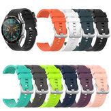Bakeey 22 mm multicolorido Silicone relógio inteligente com alça de substituição Banda para Huawei relógio GT/GT2
