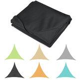 Triangle Outdoor Shade Sail Patio Suncreen Awning Garden Sun Canopy 98% UV Block