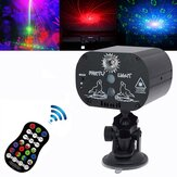 USB 60 Patterns Projector LED RGB Laser Stage Light DJ Disco KTV Home Party Lighting with Stand