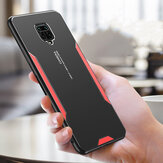 Bakeey for Xiaomi Redmi Note 9S / Redmi Note 9 Pro Case Matte Metal + TPU Edge Shockproof Anti-Fingerprint Protective Case Back Cover Non-original