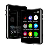 IQQ X62 8GB 16GB Bluetooth MP3 Player Portable 2.4 inch Full Touch Screen Music Video Speaker Recorder